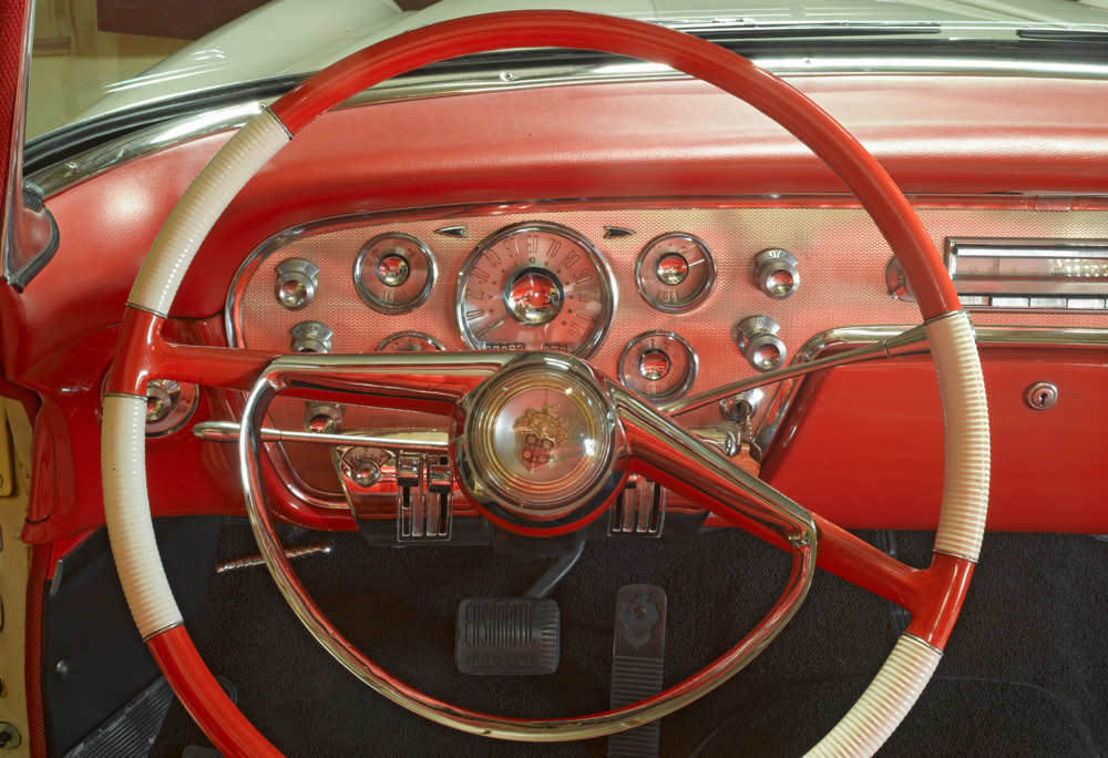 Jay Leno's 1955 Packard Dashboard by Richard Lund
