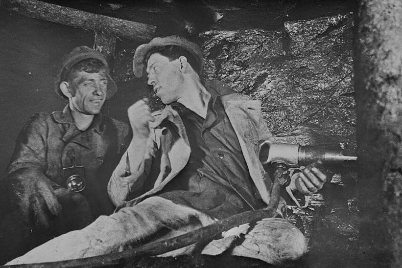 Hard working Soviet miner Stakhanov
