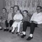 Richard Lund, Jerome Lund, Lyla Wood Lund, Jean Lund, Steven Lund, Clarence Neil Lund