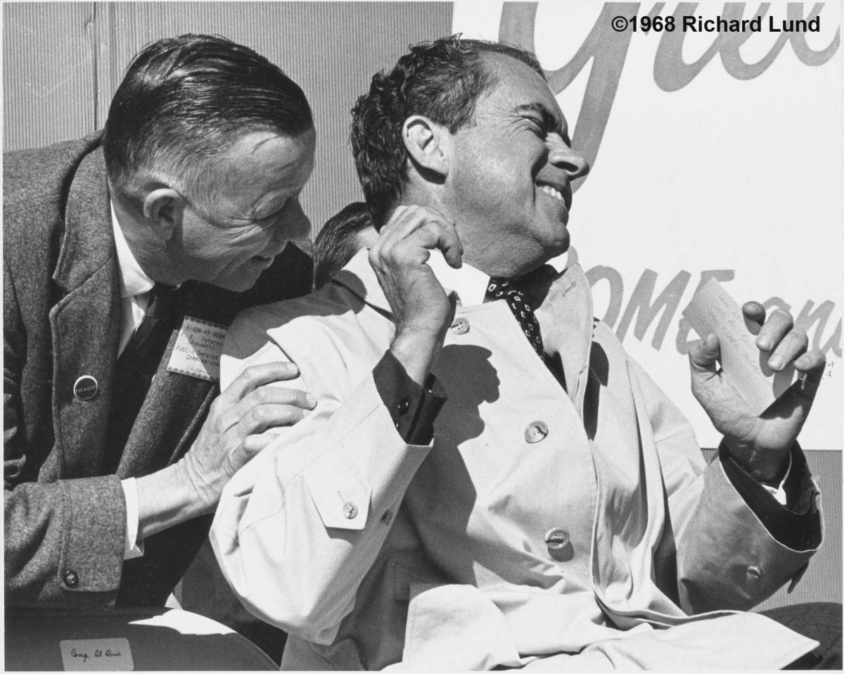 Richard Lund, Richard Nixon, 1968, Rochester Minnesota