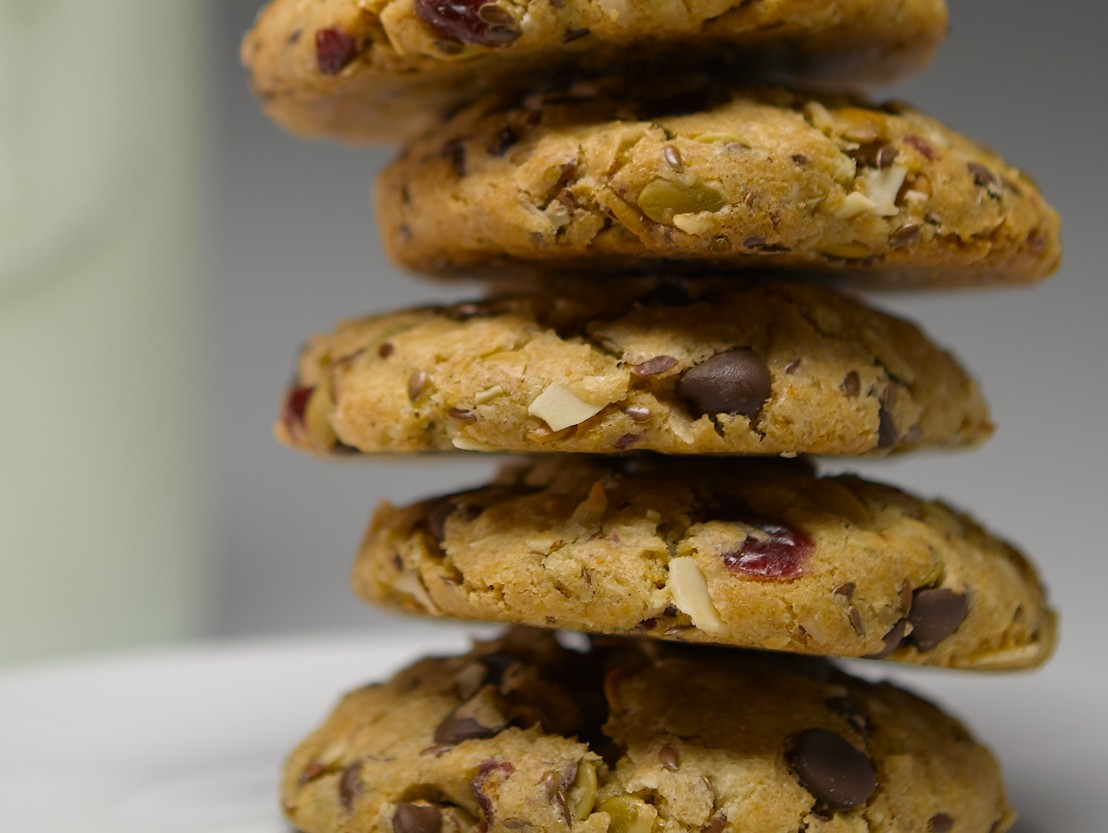 tight close-up cookies, Richard Lund, Good Habit cookies