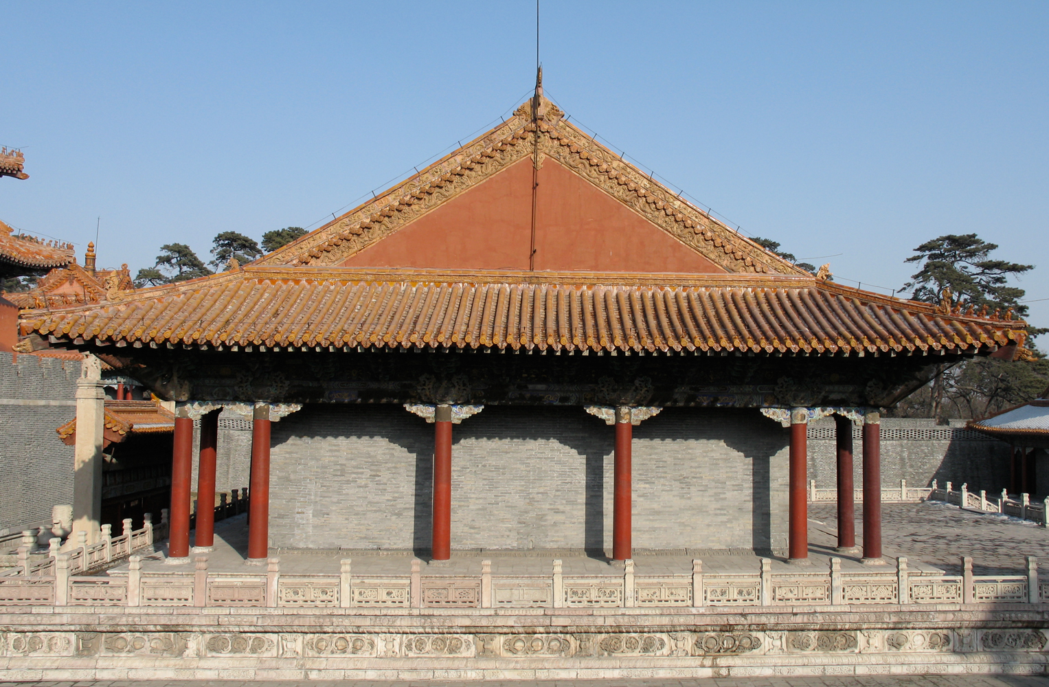 Richard Lund's China, Shenyang Imperial Palace, Roughness in Chinese architecture,