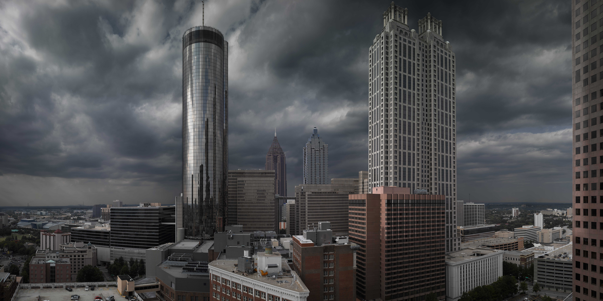 Stormy Skyline Atlanta, Richard Lund, The Change-up movie translite